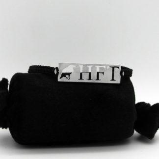 Bracelet Corbeau HFT en aluminium 1.1x3.7cm montage paracorde