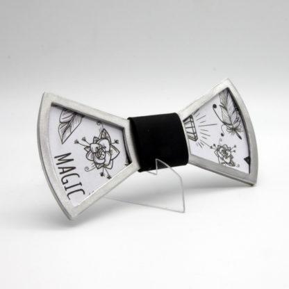 """""""Le"""" nœud papillon en aluminium personnalisable."""